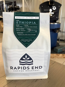 Ethiopian Whole Coffee Beans