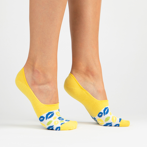 No Show Sock | yellow