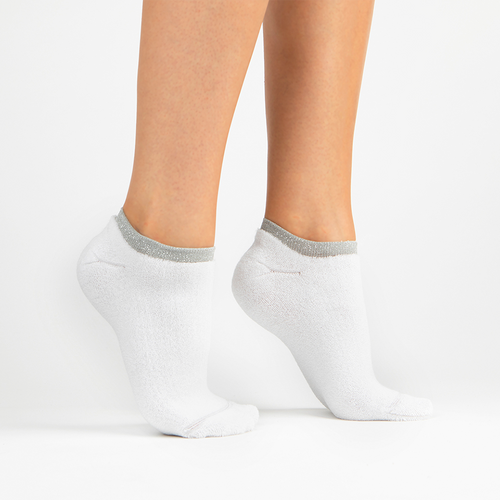 Terry Athletic Ankle Sock | White