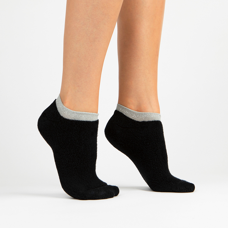 Terry Athletic Ankle Sock | Black