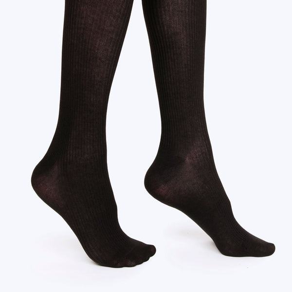 Thigh High Sock | Black