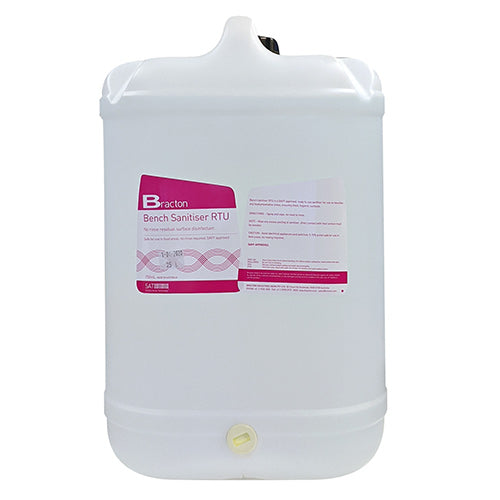 Bracton Surface Sanitiser (Ready To Use) 3x5L Carton