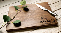 Personalized Cutting Board - Engraved Cutting Board, Custom Cutting Board, Wedding Gift, Housewarming Gift, Anniversary Gift