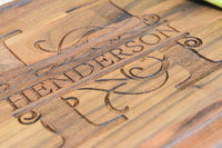 Brew City Engraving - Custom Personalized Engraved Walnut Cutting Board - Wedding, Anniversary, Graduation, Housewarming, Closing, Realtor Mother's Day, Fathers Day Gift/Present for Cooks & Chefs