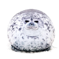 Cute Blob Seal Plush Animal toy 3D Novelty Throw Ocean Pillow Pet Stuffed Doll Housewarming Party Hold Pillow Kid Gift HomeDecor