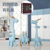 Nordic Home decor Simple Deer Ornaments Creative Wedding Gifts Living Room TV Wine Cabinet Decorations Housewarming figurine