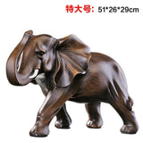 Decoration resin elephant ornaments Home Furnishing jewelry crafts gifts housewarming opening office living room cabinet Crafts