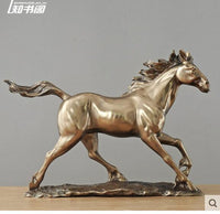horse Cold cast bronze horse office furnishings housewarming gifts practical gifts to move sculpture art crafts