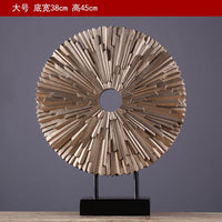 The Home Furnishing soft decoration hotel room decoration decoration housewarming gift resin furnishings