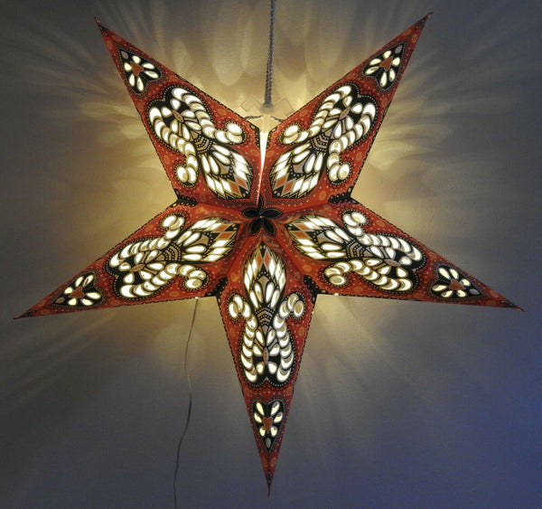 NEW Star LED Light Decorative Indoor Starlight 60cm Warm White Housewarming Gift
