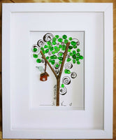 Pebble Art, Bird Watchers, Sea Glass, Home Decor, House Warming Gift
