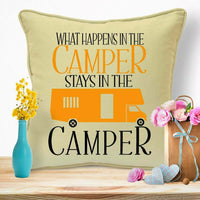 New Home Decorations Housewarming Gifts For Couples Caravan Cushion #75