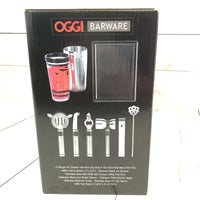 OGGI BARWARE 10 PC STAINLESS STEEL BAR TOOL SET Bar Gift Housewarming Party