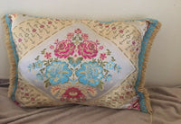 2 Colorful moroccan pillows 30 X 20 great Accent To Your Furniture