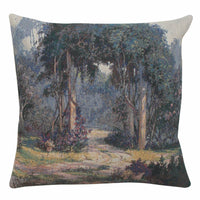 Fanciful Walk Jacquard Woven Accent Throw Pillow Cushion Cover Home Decor Art