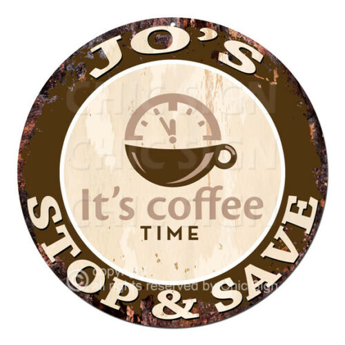 CWSS-0250 JO'S STOP&SAVE Coffee Sign Birthday Mother's Day Gift Ideas