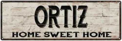 ORTIZ Rustic Home Sweet Home Sign Gift Metal Decor 106180084094