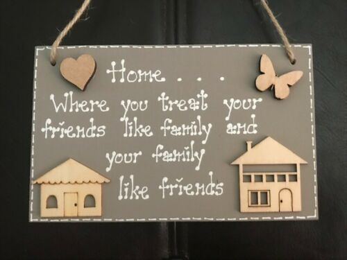 Gorgeous Hand Crafted Sign/Plaque/Keepsake Perfect Unique Housewarming Gift