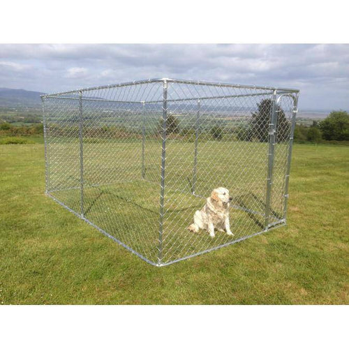 Large Dog Run / Pen - 7.5ft x 13ft x 6ft high - DogFence.ie