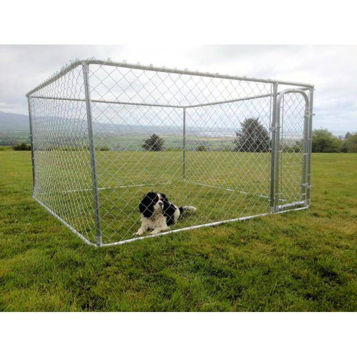 Small Dog Run / Pen 7ft x 7ft x 4ft high - DogFence.ie