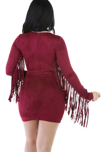 SUEDE FRINGES