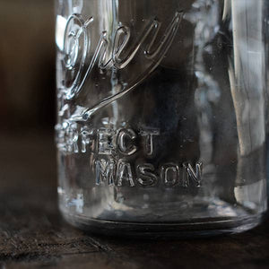 Drey Mason Jar 32oz 1918~1925年