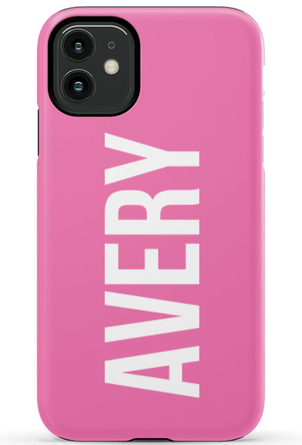 Large Name Phone Case - Any Color