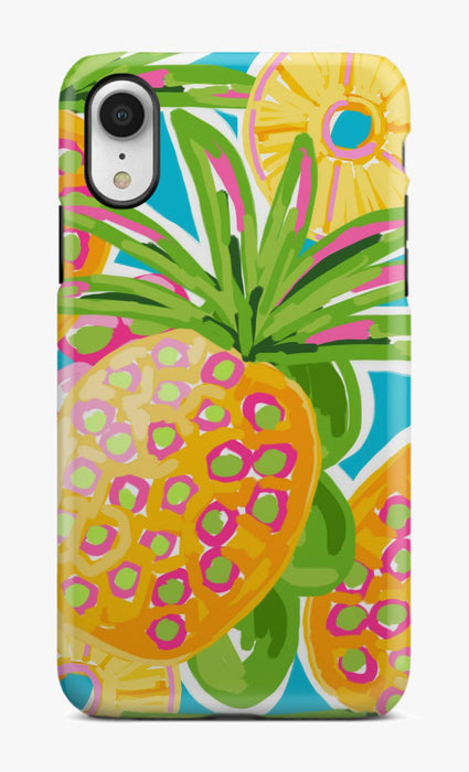 Preppy Pineapple Phone Case