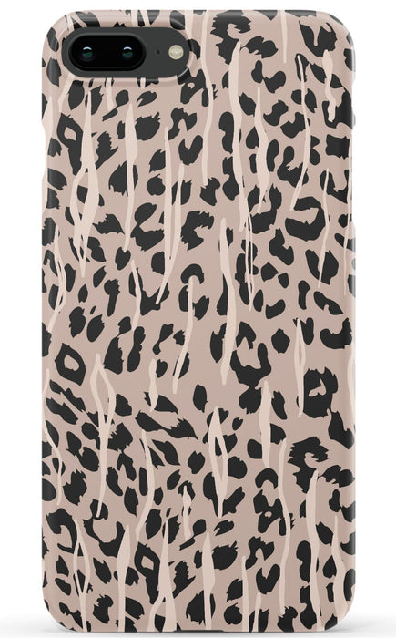 Tan Leopard Phone Case