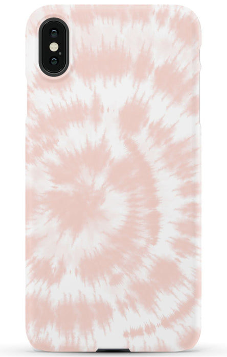 Blush Pink Tie Dye Phone Case