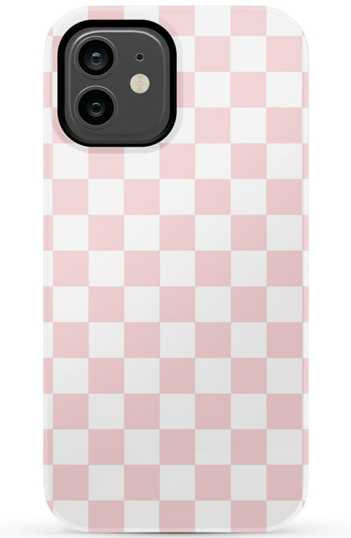 Pink Checkers Phone Case