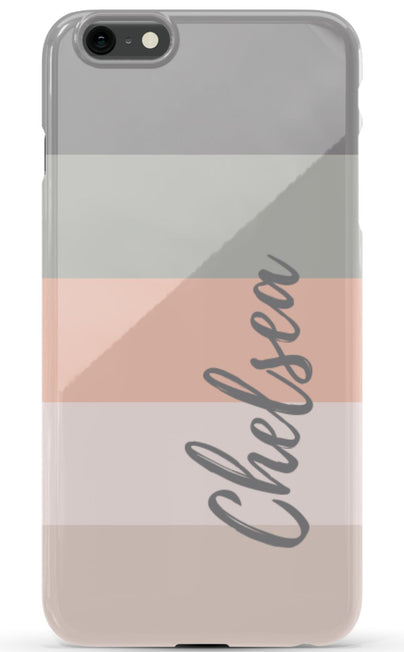 Stripey Cabana Streaks Phone Case