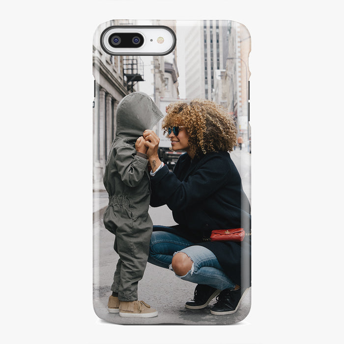 Custom iPhone 8 Plus Extra Protective Bumper Case - Your Custom Design in Cart will be Shipped