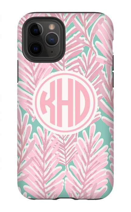 Pink Leaves Phone Case