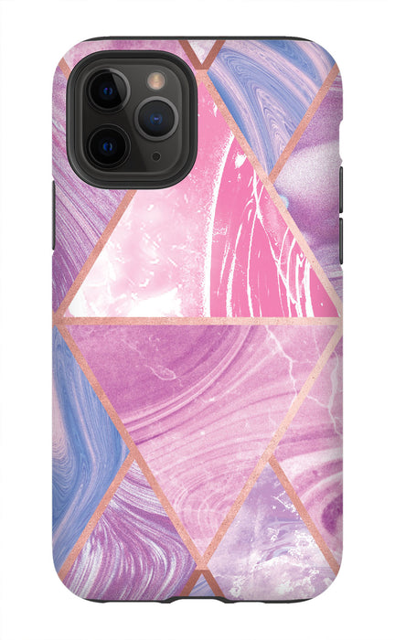 Pink Marble Abstract Phone Case