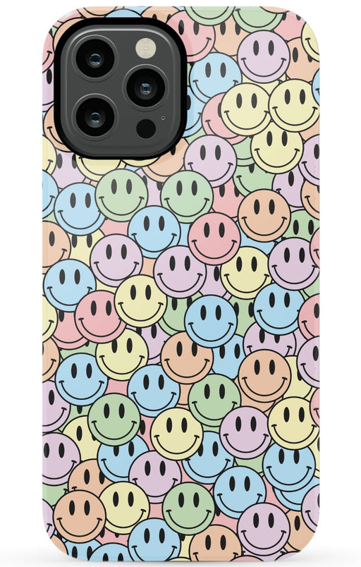 Pastel Smiles Phone Case