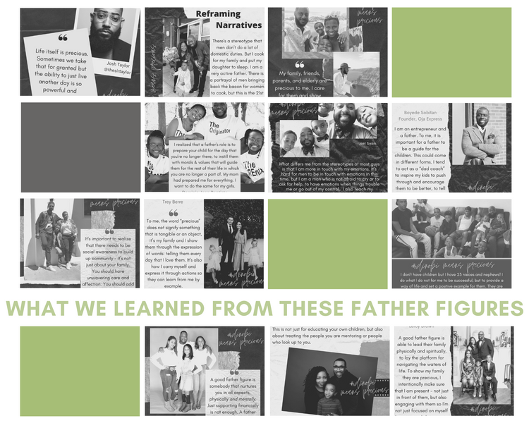 What We Learned From These Father Figures -- What's Precious to Them and How They Show It