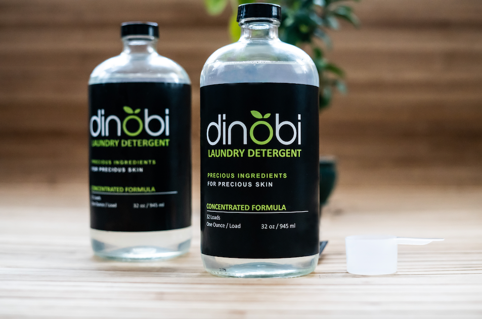 Dinobi Laundry Detergent, Set of 2 (Recyclable Glassware)