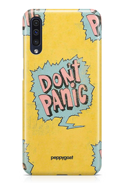 """Don't Panic"" Galaxy Printed Back Cover Case"