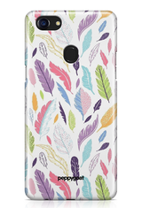 """Colored Leaves"" Oppo F7 Printed Back Cover Case"