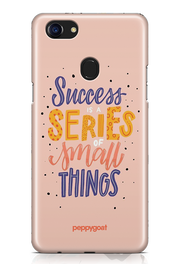 """Success Series"" Oppo F7 Printed Back Cover Case"