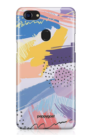 """Paint Pattern"" Oppo F7 Printed Back Cover Case"