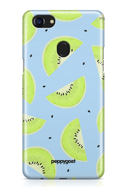 """Kiwi Pattern"" Oppo F7 Printed Back Cover Case"