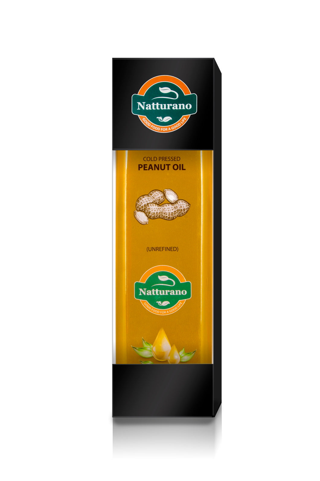 Natturano single origin premium peanut /ground nut oil