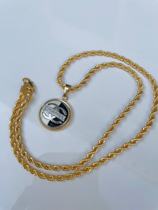 Chanel Mixed Metal Rope Necklace