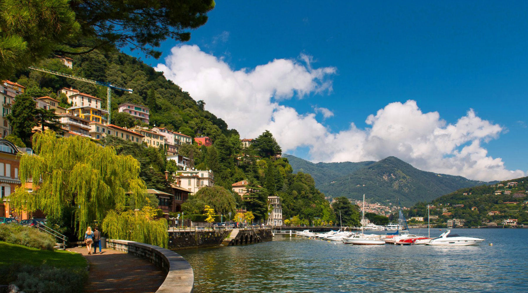 lake como silk scarves