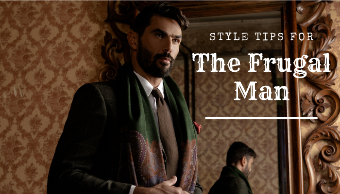 style tips for the frugal man