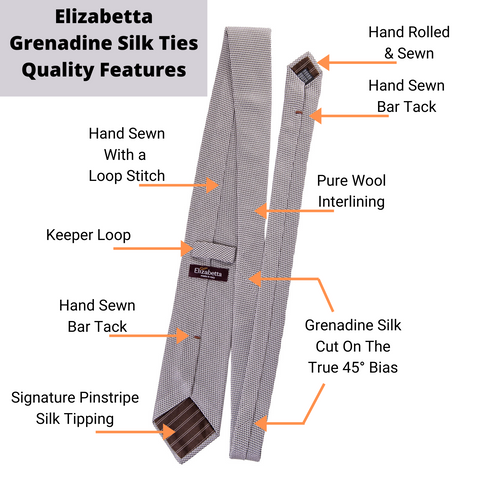 how a grenadine tie is made