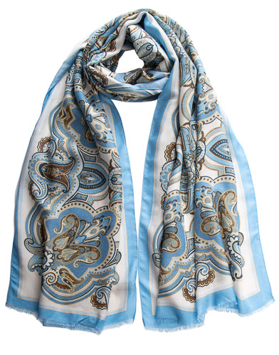 modal scarf made in italy