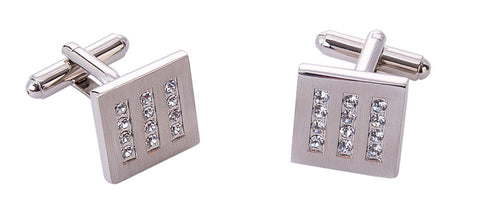 Italian crystal cufflinks